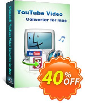 4Videosoft YouTube Video Converter for Mac Coupon, discount 4Videosoft YouTube Video Converter for Mac big promo code 2020. Promotion: big promo code of 4Videosoft YouTube Video Converter for Mac 2020