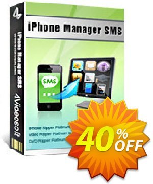 4Videosoft iPhone Manager SMS Coupon, discount 4Videosoft iPhone Manager SMS marvelous offer code 2019. Promotion: marvelous offer code of 4Videosoft iPhone Manager SMS 2019