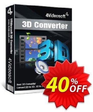 4Videosoft 3D Converter Coupon, discount 4Videosoft 3D Converter dreaded sales code 2020. Promotion: