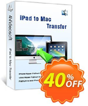 4Videosoft iPad to Mac Transfer Coupon, discount 4Videosoft iPad to Mac Transfer formidable deals code 2020. Promotion: formidable deals code of 4Videosoft iPad to Mac Transfer 2020