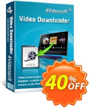 4Videosoft Video Downloader Coupon, discount 4Videosoft Video Downloader exclusive promo code 2020. Promotion: exclusive promo code of 4Videosoft Video Downloader 2020