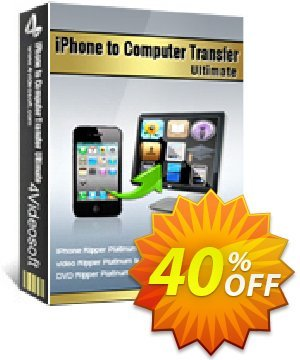 4Videosoft iPhone to Computer Transfer Ultimate Coupon, discount 4Videosoft iPhone to Computer Transfer Ultimate big discount code 2020. Promotion: big discount code of 4Videosoft iPhone to Computer Transfer Ultimate 2020