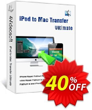 4Videosoft iPod to Mac Transfer Ultimate Coupon, discount 4Videosoft iPod to Mac Transfer Ultimate best deals code 2020. Promotion: best deals code of 4Videosoft iPod to Mac Transfer Ultimate 2020