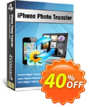 4Videosoft iPhone Photo Transfer Coupon, discount 4Videosoft iPhone Photo Transfer big promo code 2019. Promotion: big promo code of 4Videosoft iPhone Photo Transfer 2019