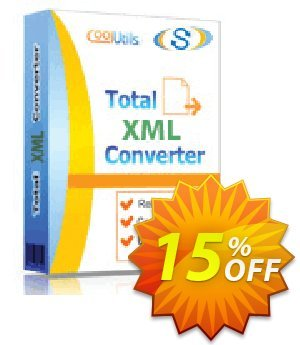 Coolutils Total XML Converter Coupon, discount 15% OFF Coolutils Total XML Converter, verified. Promotion: Dreaded discounts code of Coolutils Total XML Converter, tested & approved