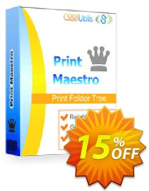 Coolutils Print Maestro discount coupon 30% OFF JoyceSoft -