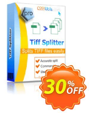 Coolutils Tiff Splitter Coupon, discount 30% OFF JoyceSoft. Promotion: