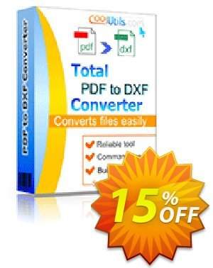 Coolutils Total PDF to DXF Converter discount coupon 15% OFF Coolutils Total PDF to DXF Converter, verified - Dreaded discounts code of Coolutils Total PDF to DXF Converter, tested & approved