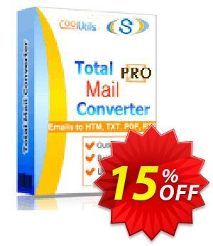 Coolutils Total Mail Converter Pro (Site License) Coupon, discount 15% OFF Coolutils Total Mail Converter Pro (Site License), verified. Promotion: Dreaded discounts code of Coolutils Total Mail Converter Pro (Site License), tested & approved