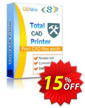 Coolutils Total CAD Printer discount coupon 15% OFF Coolutils Total CAD Printer, verified - Dreaded discounts code of Coolutils Total CAD Printer, tested & approved