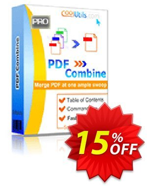 Coolutils PDF Combine Pro discount coupon 15% OFF Coolutils PDF Combine Pro, verified - Dreaded discounts code of Coolutils PDF Combine Pro, tested & approved