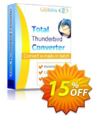 Coolutils Total Thunderbird Converter Pro (Site License) Coupon, discount 15% OFF Coolutils Total Thunderbird Converter Pro (Site License), verified. Promotion: Dreaded discounts code of Coolutils Total Thunderbird Converter Pro (Site License), tested & approved