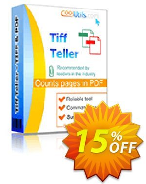Coolutils Tiff Teller Coupon, discount 15% OFF Coolutils Tiff Teller, verified. Promotion: Dreaded discounts code of Coolutils Tiff Teller, tested & approved