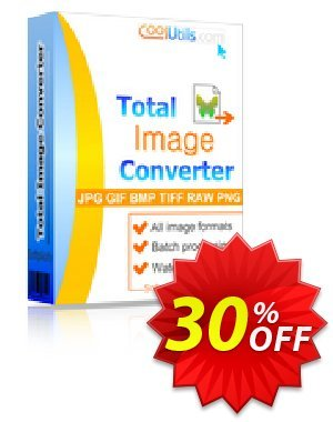 Coolutils Total Image Converter Coupon, discount 30% OFF JoyceSoft. Promotion: