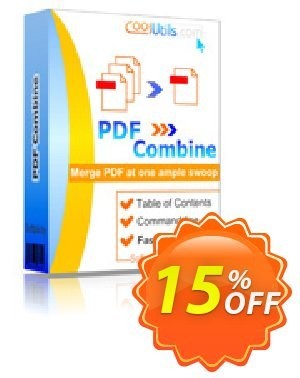 PDFCombine Coupon, discount 30% OFF JoyceSoft. Promotion: