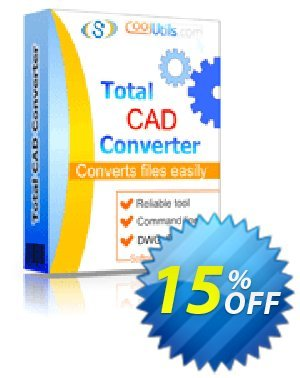 Total CAD Converter Coupon, discount 30% OFF JoyceSoft. Promotion: