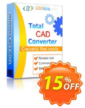 Coolutils Total CAD Converter Coupon, discount 30% OFF JoyceSoft. Promotion: