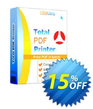 Total PDF Printer Coupon, discount 30% OFF JoyceSoft. Promotion: