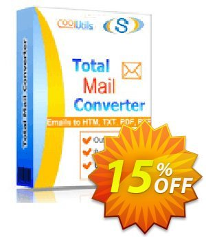 Get Coolutils Total Mail Converter 15% OFF coupon code
