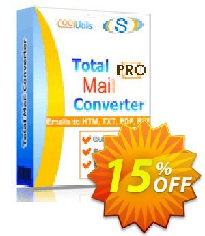 Coolutils Total Mail Converter Pro discount coupon 30% OFF JoyceSoft -