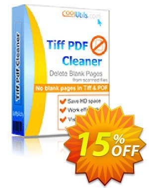 Tiff Pdf Cleaner Coupon discount 30% OFF JoyceSoft -