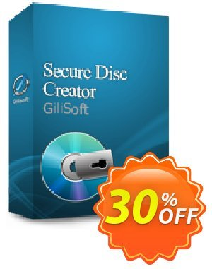 GiliSoft Secure Disc Creator Lifetime Coupon, discount uninstall discount. Promotion: