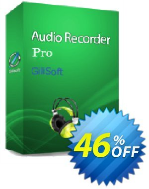 GiliSoft Audio Recorder Pro Lifetime discount coupon Audio Recorder Pro - 1 PC / Liftetime free update formidable promotions code 2021 -