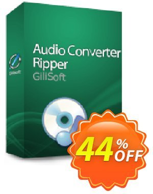 GiliSoft Audio Converter-Ripper Coupon, discount uninstall discount. Promotion: