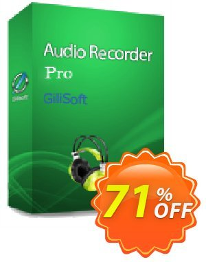Audio Recorder Pro - Lifetime/3 PC Coupon, discount Audio Recorder Pro - 3 PC / Liftetime free update staggering offer code 2019. Promotion: staggering offer code of Audio Recorder Pro - 3 PC / Liftetime free update 2019