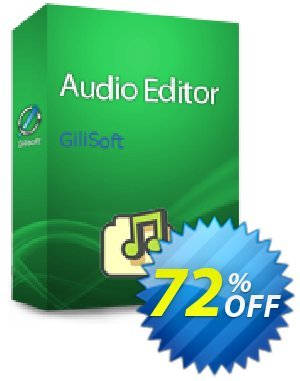 GiliSoft Audio Editor - Lifetime/3 PC Coupon, discount Audio Editor - 3 PC / Liftetime free update stirring promo code 2019. Promotion: stirring promo code of Audio Editor - 3 PC / Liftetime free update 2019