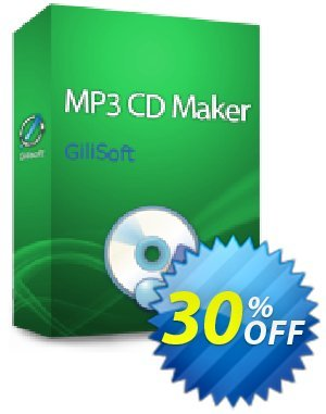 GiliSoft MP3 CD Maker 3PC/Lifetime Coupon discount MP3 CD Maker - 3 PC / Liftetime free update fearsome sales code 2020 - fearsome sales code of MP3 CD Maker - 3 PC / Liftetime free update 2020