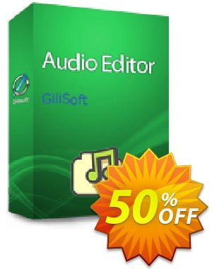 GiliSoft Audio Editor discount coupon Audio Editor  - 1 PC / 1 Year free update fearsome promotions code 2020 - staggering deals code of Audio Editor  - 1 PC / 1 Year free update 2020