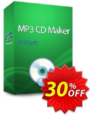 GiliSoft MP3 CD Maker Coupon, discount MP3 CD Maker  - 1 PC / 1 Year free update stirring discount code 2019. Promotion: stirring discount code of MP3 CD Maker  - 1 PC / 1 Year free update 2019