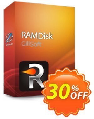 GiliSoft RAMDisk 프로모션 코드 Gilisoft RAMDisk  - 1 PC / Liftetime free update stunning deals code 2020 프로모션: