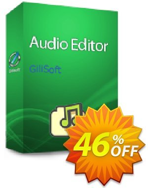 GiliSoft Audio Editor Lifetime discount coupon Audio Editor  - 1 PC / Liftetime free update dreaded deals code 2021 -