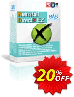 Reinstall DirectX EZ Coupon, discount CRM Service. Promotion: 20% OFF