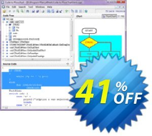 AthTek Code to FlowChart Converter割引コード・Price Off for Code to Flowchart Converter キャンペーン:20% OFF