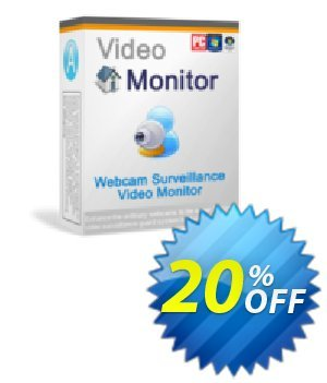 Webcam Surveillance Monitor Coupon, discount CRM Service. Promotion: 20% OFF