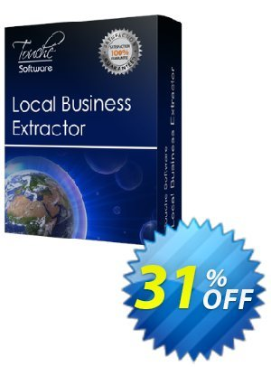 Local Business Extractor 프로모션 코드 25% Discount Touche Software (22387) 프로모션: 25% Discount Touche Software (22387)