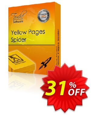 Yellow Pages Spider 프로모션 코드 25% Discount Touche Software (22387) 프로모션: