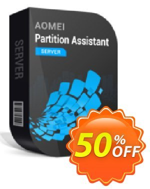 AOMEI Partition Assistant Server + Free Lifetime Upgrade Coupon discount All Product for users 20% Off. Promotion: