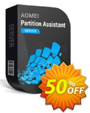 AOMEI Partition Assistant Server + Lifetime Upgrade 優惠券,折扣碼 50% OFF AOMEI Partition Assistant Server + Lifetime Upgrade, verified,促銷代碼: Awesome deals code of AOMEI Partition Assistant Server + Lifetime Upgrade, tested & approved