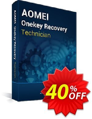 AOMEI OneKey Recovery Technician Coupon, discount AOMEI OneKey Recovery Tech Off. Promotion: