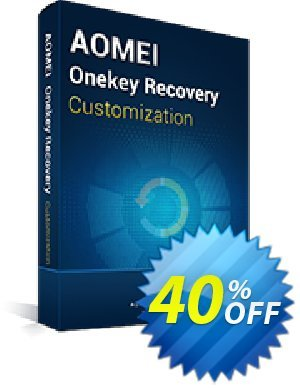 AOMEI OneKey Recovery Customization Coupon, discount AOMEI OneKey Recovery Cust discount Off. Promotion: