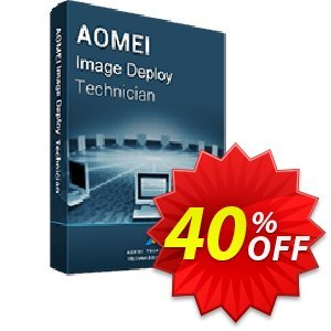 AOMEI Image Deploy Technician 프로모션 코드 AOMEI Image Deploy discount from AOMEI software 프로모션:
