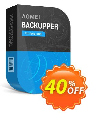 AOMEI Backupper Pro + Free Lifetime Upgrade 優惠券,折扣碼 All Product for users 20% Off,促銷代碼: