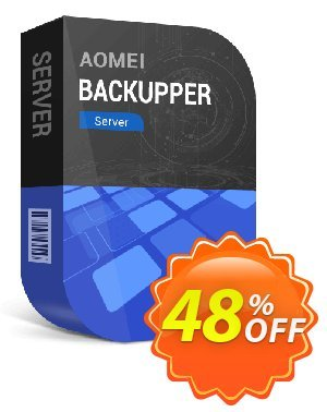AOMEI Backupper Server + Lifetime Free Upgrades Coupon, discount WBD - AB Server Lifetime. Promotion: