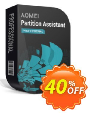 AOMEI Partition Assistant Pro 프로모션 코드 AOMEI Partition Assistant Professional stirring deals code 2020 프로모션: PA Pro 30% off