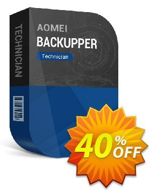 AOMEI Backupper Technician + Lifetime Free Upgrades Coupon, discount All Product for users 20% Off. Promotion: