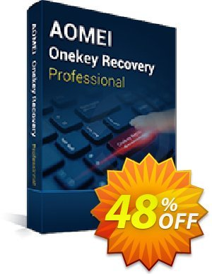 AOMEI OneKey Recovery Pro Coupon, discount All Product for users 20% Off. Promotion: